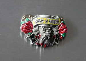 Guns N' Roses Two-Pin-Badge image 1