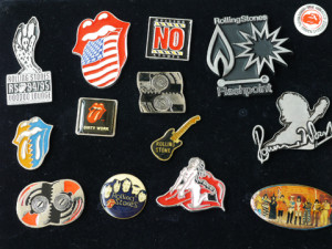 Rolling Stones Vintage Pin Badge set image 1