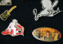 Rolling Stones Vintage Pin Badge set image 3